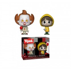 Funko Pop! Vynl: IT - Pennywise & Georgie - 2pk