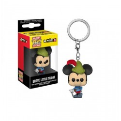 Funko Pocket Pop! Keychain: Mickey 90th - Brave Little Tailor