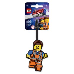 LEGO Movie 2 Emmet Bag Tag