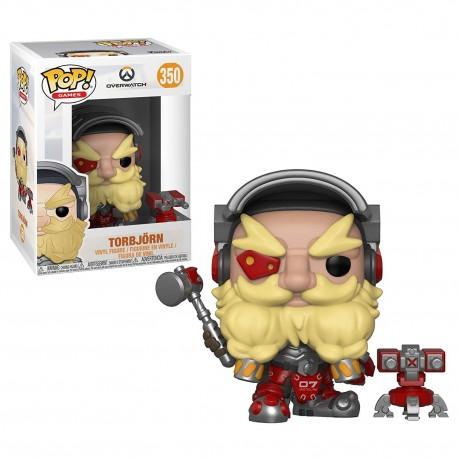 Funko POP! Games 350: Overwatch - Torbjon