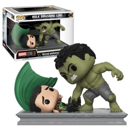 Funko POP! Movies 362: Marvel Movie Moments - Hulk Smashing Loki (6inch)