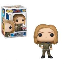 Funko POP! Marvel 436: Captain Marvel (2019) - Carol Danvers in Top Gun Outfit (Special Edition)