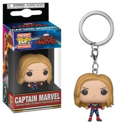 Funko Pocket Pop! Keychain: Marvel - Captain Marvel (2019) - Captain Marvel
