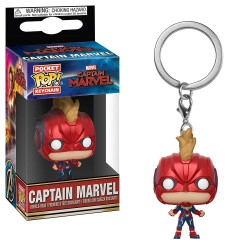 Funko Pocket Pop! Keychain: Marvel - Captain Marvel (2019) - Captain Marvel Masked