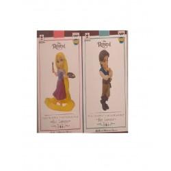 Banpresto Q Posket Petit Disney Characters: Rapunzel & Flynn Rider - 2pk