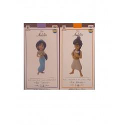 Banpresto Q Posket Petit Disney Characters: Jasmine & Aladdin - 2pk
