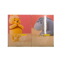 Banpresto Disney Characters: Fluffy & Puffy - Pooh and Eeyore - 2pk