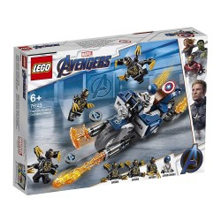 LEGO Marvel Super Heroes 76123 Avengers End Game: Captain America - Outriders Attack
