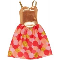 Barbie Fashions - Golden Dress