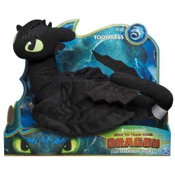 HTTYD 3 Deluxe Plush Toothless
