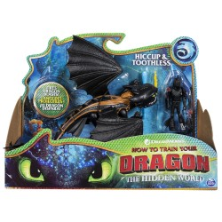 How to Train Your Dragon 3 Dragon & Viking - Hiccup & Toothless