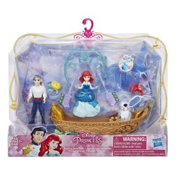 Disney Princess Evening Boat Ride Ariel and Prince Eric Dolls