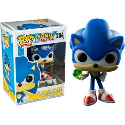 Funko Pop! Games 284: Sonic - SonicWith Emerald