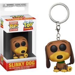 Funko Pocket Pop! Keychain: Toy Story - Slinky The Dog (Special Edition)