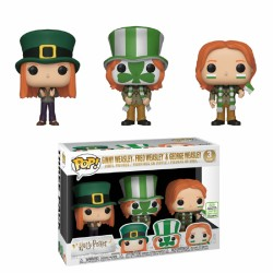 Funko Pop! Movies: Harry Potter - Fred, George, Ginny Weasleys 3pk (Exclusive)