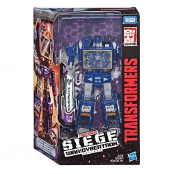 Transformers Generations War for Cybertron Voyager WFC-S25 Soundwave Figure
