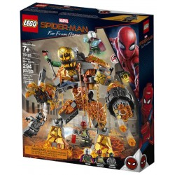LEGO Marvel Super Heroes 76128 Spider-Man Molten Man Battle