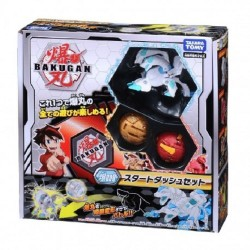Bakugan Battle Planet 008 Card Game Starter Set Vol 1 (Howlkor Black DX, Dragonoid Red, Pegatrix Gold)