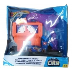 Hot Wheels City Downtown Super Fuel Stop Play Set