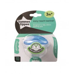 Tommee Tippee Closer To Nature Blue Teether Triple Action Stage 1 (3 Months+)