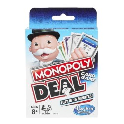Monopoly Deal Card Game - Blue Pack