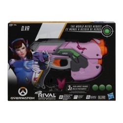 Nerf Rival Blaster Overwatch D.Va with 3 OverWatch Nerf Rival Rounds