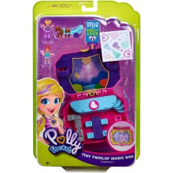 Polly Pocket Pocket World Tiny Twirlin Music Box