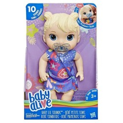 Baby Alive Baby Lil Sounds Blonde Hair Baby Doll
