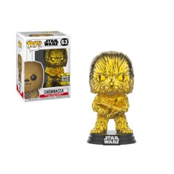Funko Pop! Star Wars 63: Chewbacca Gold Chrome (Exclusive)