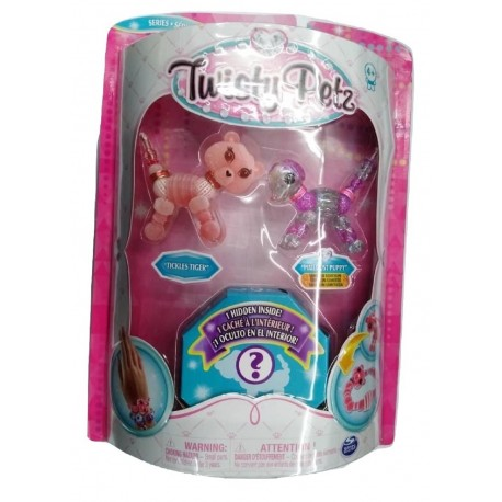 Twisty Petz Tickles Tiger, Pixiedust Puppy and Surprise Collectible