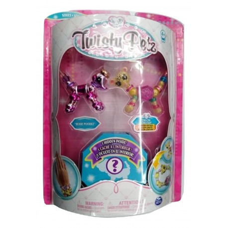 Twisty Petz Rosie Poodle, Chi-Chi Cheetah and Surprise Collectible