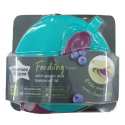 Tommee Tippee Explora Easy Scoop Feeding Bowls (7 Months+) - Purple