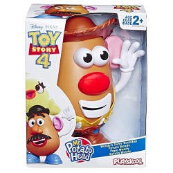 Playskool Mr. Potato Head Disney/Pixar Toy Story 4 Woody's Tater Roundup Figure