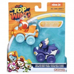 Top Wing Racers 2 Pack: Swift and Baddy