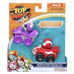 Top Wing Racers 2 Pack: Rod and Betty