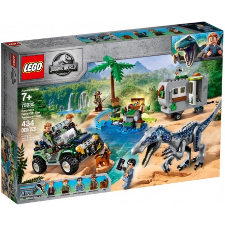 LEGO Jurassic World 75935 Baryonyx Face-Off: The Treasure Hunt