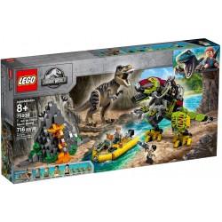 LEGO Jurassic World 75938 T. rex vs Dino-Mech Battle