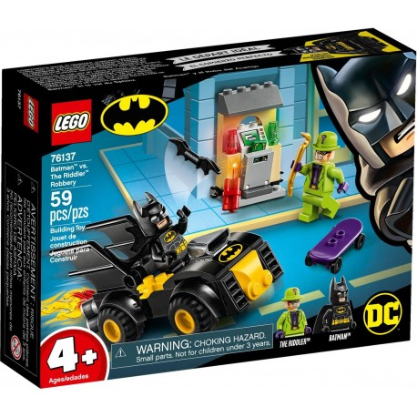 LEGO DC Super Heroes 76137 Batman vs. The Riddler Robbery