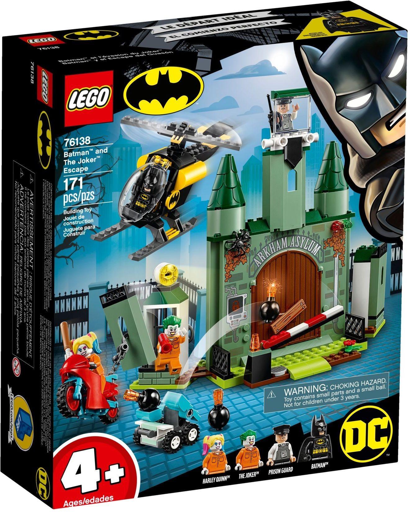 Joker And Lego The Dc Batman Heroes 76138 Escape Super vwmn0NOy8