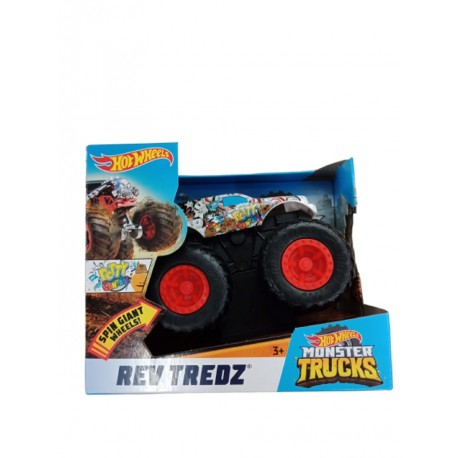 Hot Wheels Monster Trucks Rev Tredz Potty Central Vehicle