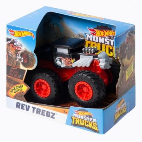 Hot Wheels Monster Trucks Rev Tredz Bone Shaker Vehicle