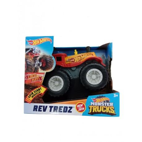 Hot Wheels Monster Trucks Rev Tredz Loco Punk Vehicle