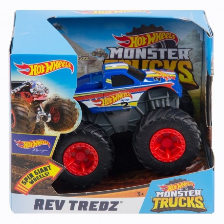 Hot Wheels Monster Trucks Rev Tredz Hot Wheels Racing Vehicle
