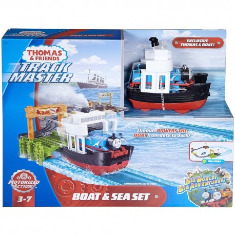 Thomas & Friends TrackMaster Boat & Sea Set