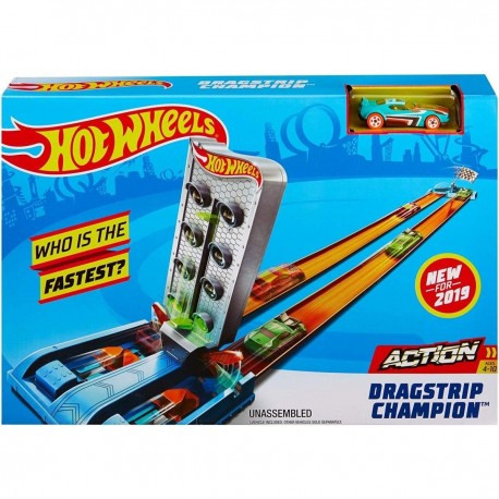 Hot Wheels Dragstrip Champion Playset