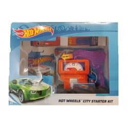 Hot Wheels City Starter Kit Downtown Speedy Fuel Stop