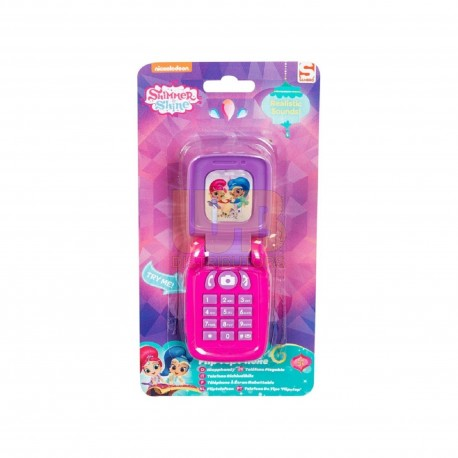 Shimmer and Shine Flip Top Phone ( NO SOUND/NO BATTERY) NON RETURNABLE