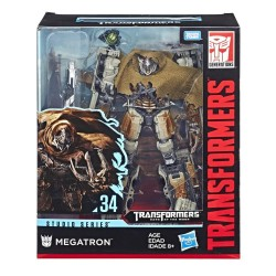 Transformers Toys Studio Series 34 Leader Class Dark of the Moon Movie Megatron with Igor Action Figure