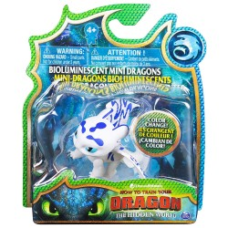 How to Train Your Dragon 3 Bioluminescent Mini Dragons - Light Fury