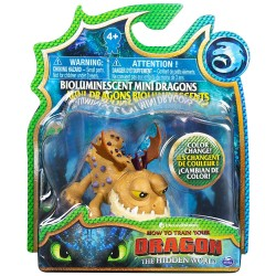 How to Train Your Dragon 3 Bioluminescent Mini Dragons - Meatlug